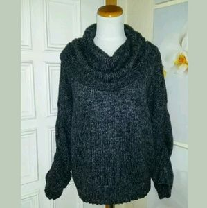 Sweaters - Nine West Jeans Cowl Neck Sweater